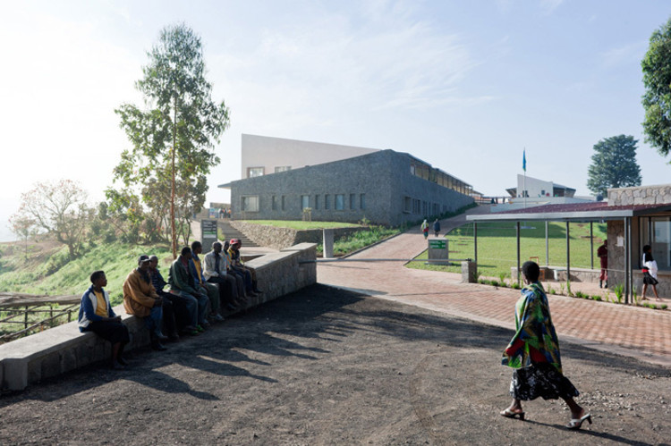AIA Signs Cooperative Agreement with Africa Union of Architects, Butaro Hospital / MASS Design Group. Image ©  Iwan Baan