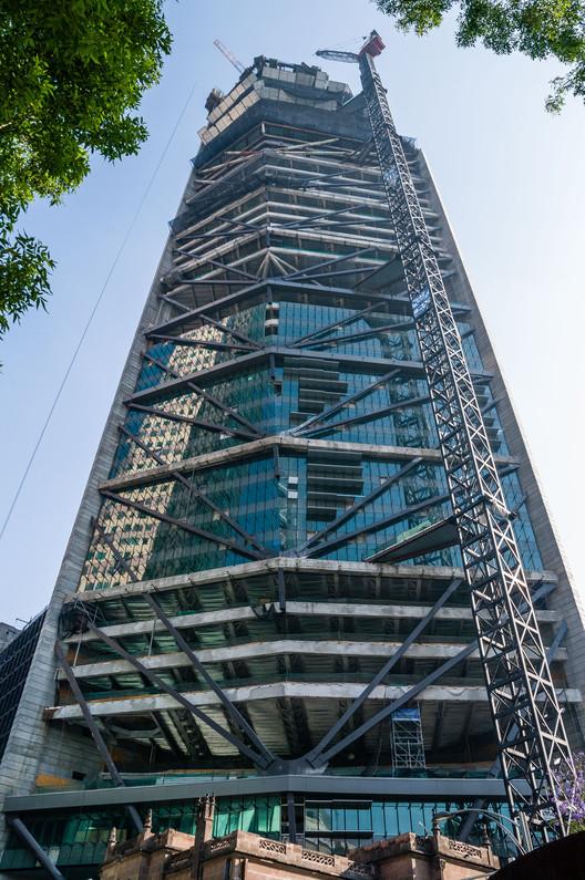 En Construcción: Torre Reforma / LBR + A, © Alfonso Merchand