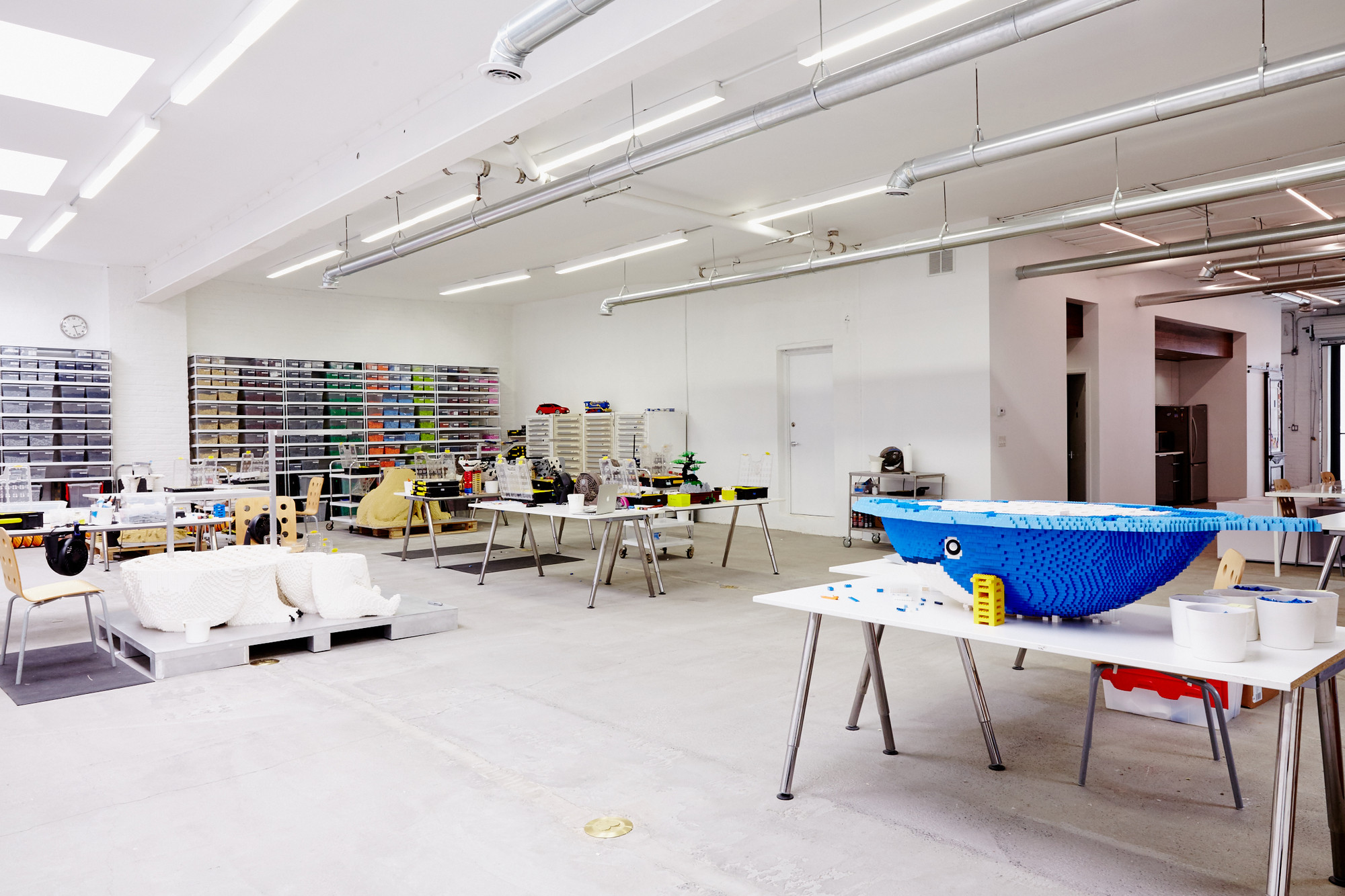 Inside studioMET's Studio for LEGO Artist Sean Kenney, © Chaunté Vaughn
