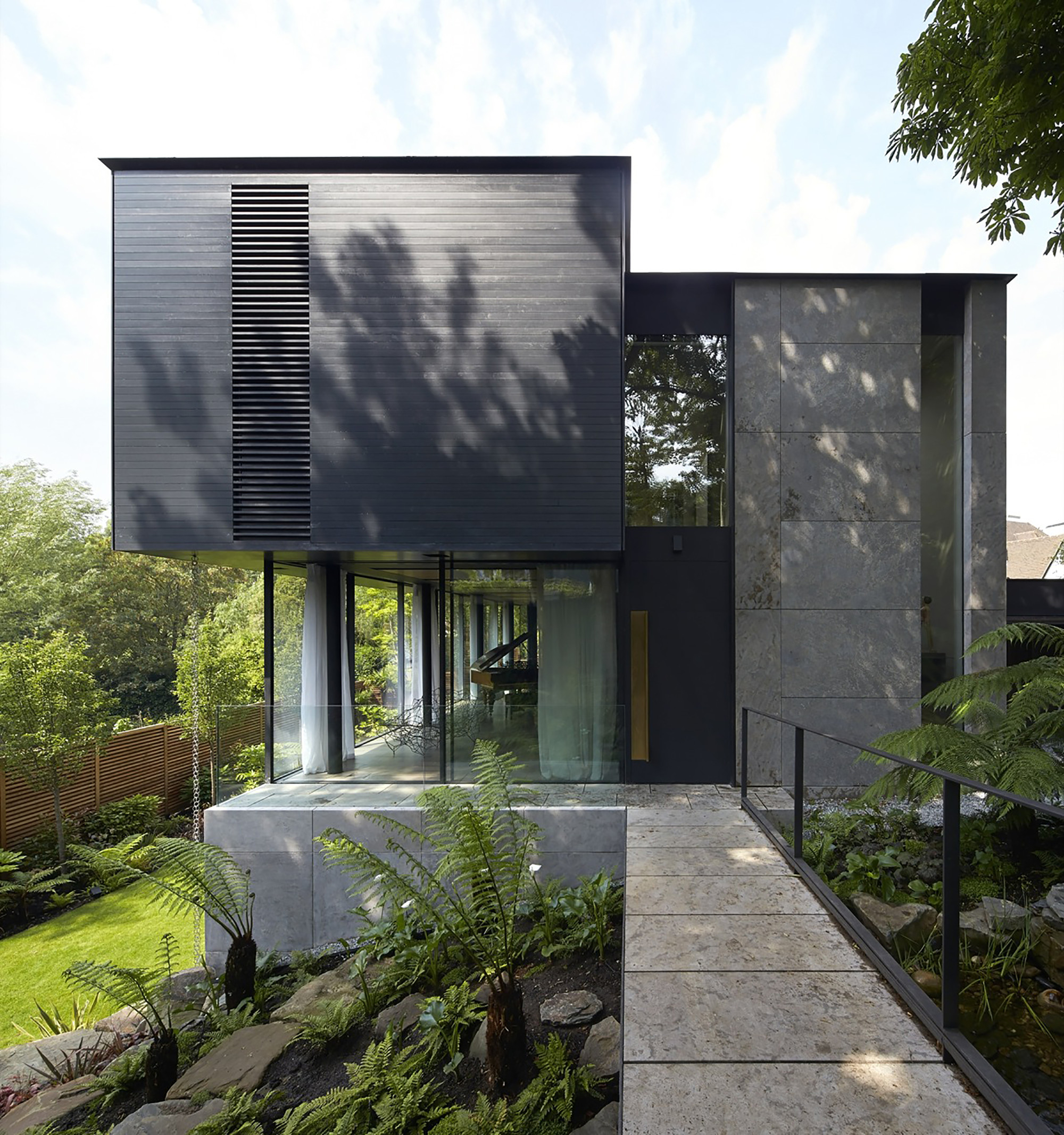 Fitzroy Park House / Stanton Williams, © Hufton+Crow