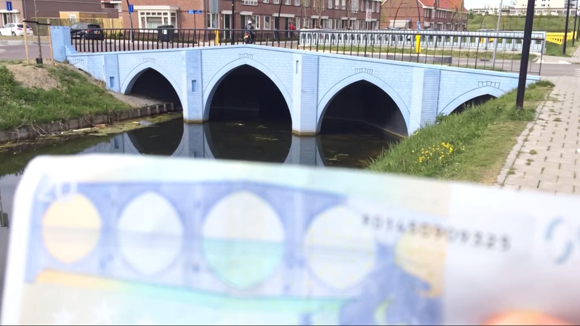 Puentes ficticios del Euro en realidad ya fueron construidos en Holanda