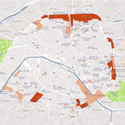 Map of Paris with Montreuil in the east and Saint-Denis in the north. Image © City of Paris