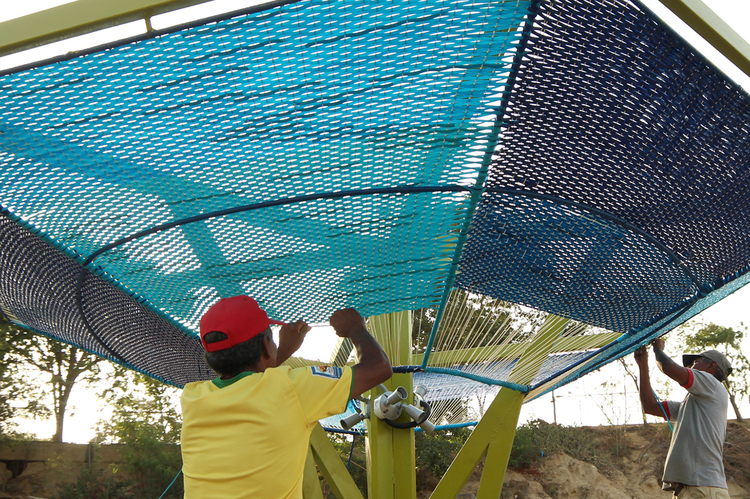 Siete lecciones sobre ganarse la confianza de la comunidad en diseño participativo, Espacios de Paz en Cumaná. Image © José Tomás Franco