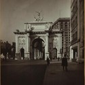 """Celebrations - Parades - Municipal events - The Victory Arch."", Unknown (1918). Image Courtesy of The New York Public Library http://www.oldnyc.org/"