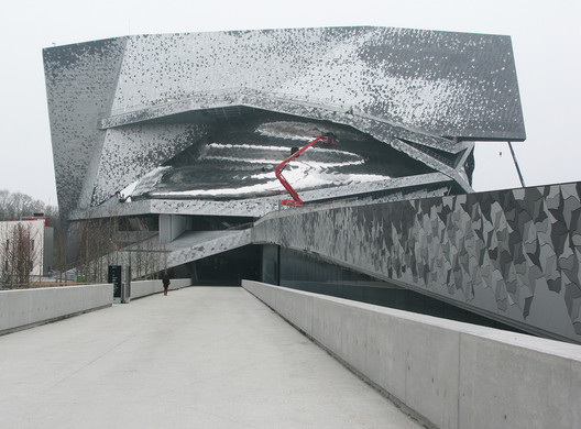 The Philharmonie de Paris. Image © Flickr CC user Daniel Hennemand