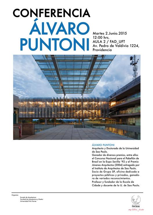 Conferencia de Álvaro Puntoni en Universidad Finis Terrae / Santiago