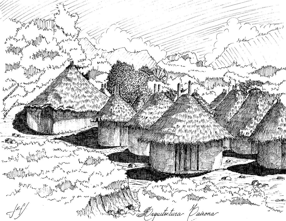 Arquitectura Tayrona. Image © Jorge Eduardo Fernández Saavedra