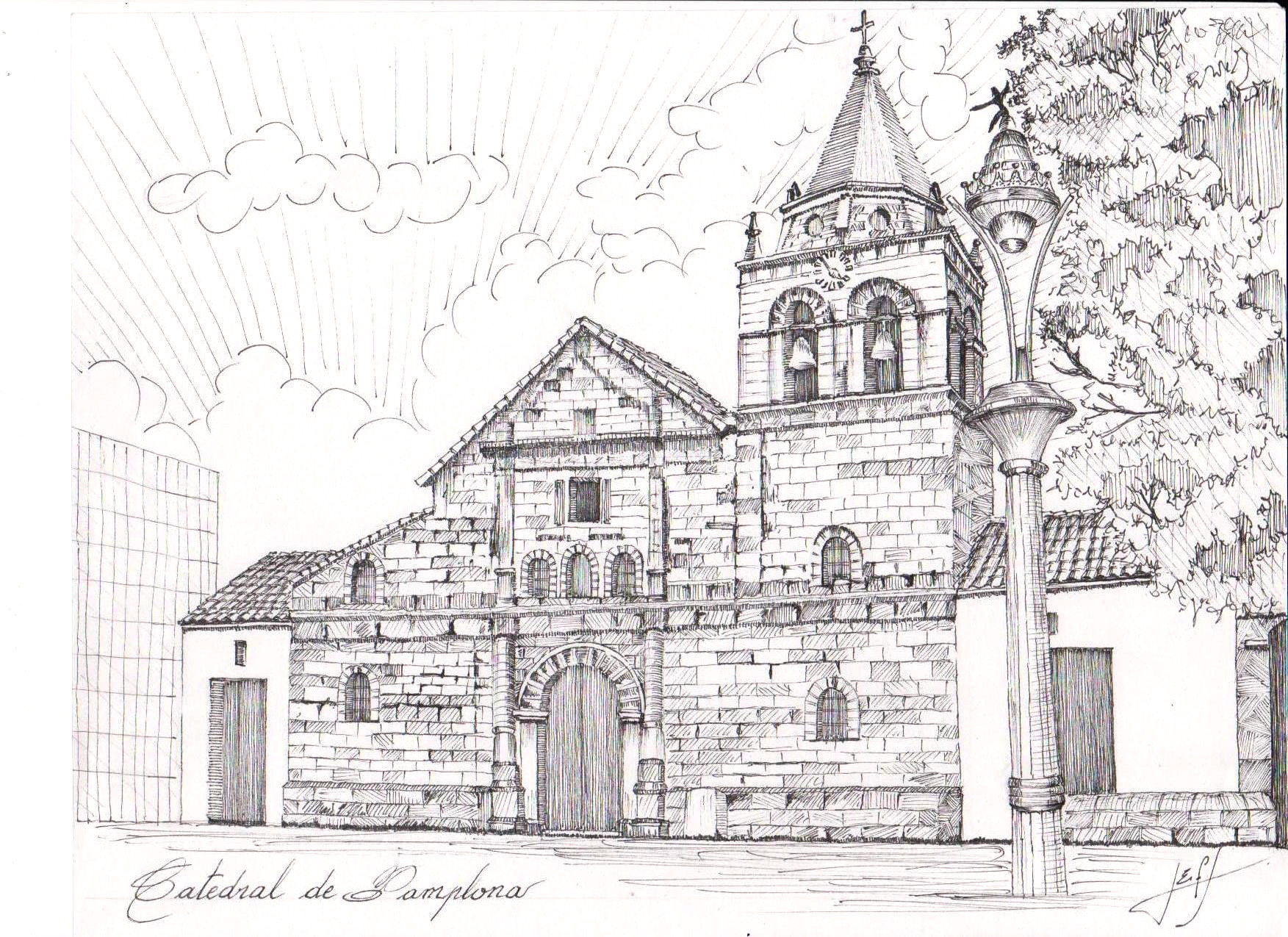 Catedral de Pamplona. Image © Jorge Eduardo Fernández Saavedra