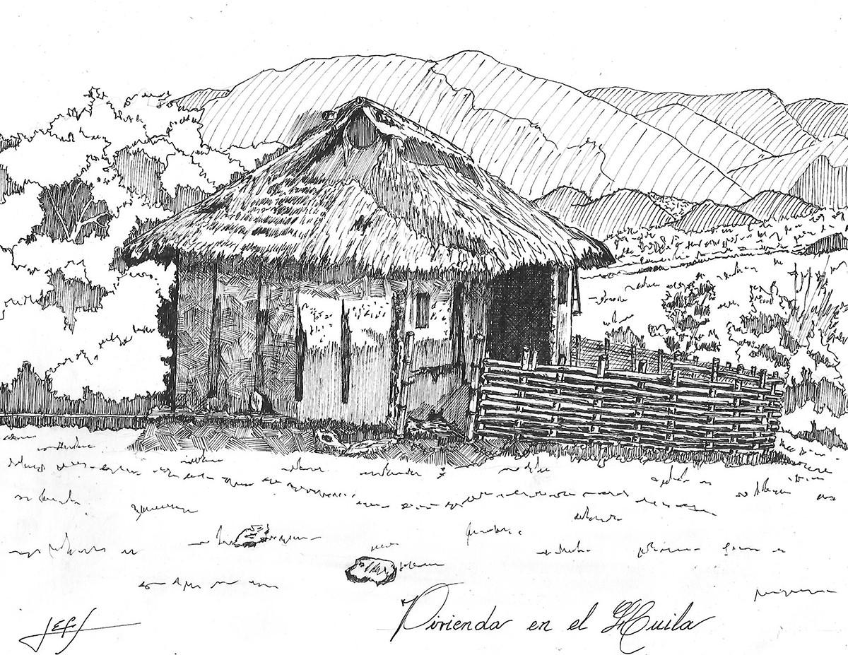Vivienda Páez, Huila. Image © Jorge Eduardo Fernández Saavedra