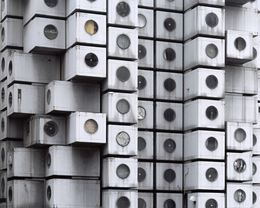 "Noritaka Minami, ""Facade I,"" 2011, Tokyo, Japan. Courtesy of the artist. From the 2015 Individual Grant to Noritaka Minami and Ken Yoshida for ""1972–Nakagin Capsule Tower."". Image Courtesy of Graham Foundation"