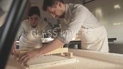 Mira a estos artistas italianos creando un vidrio inspirado en el plástico de burbujas