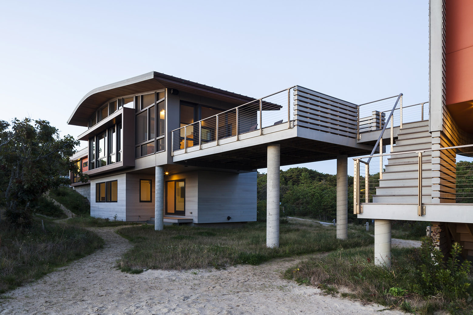 Gallery of house of shifting sands ruhl walker for Cape cod architect