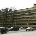 Narkomfin Building, Moscow. Image © Wikimedia user NVO