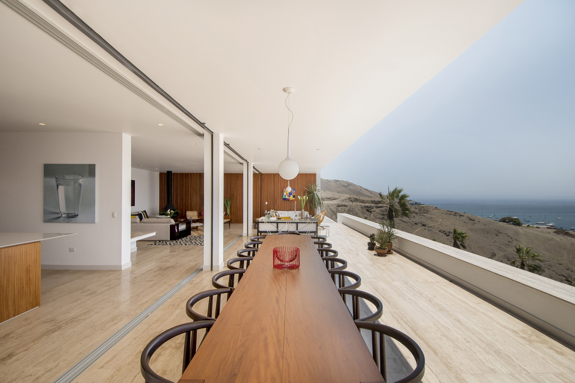 Casa en Ancón / Adrián Noboa Arquitecto, © Renzo Rebagliati