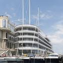 Yacht Club de Monaco. Image © Nigel Young / Foster + Partners