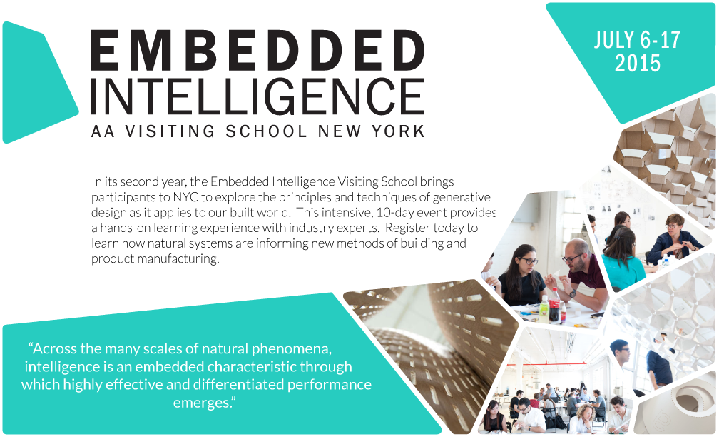 AA Visiting School NYC: Embedded Intelligence, Embedded Intelligence 2015, Mode Lab