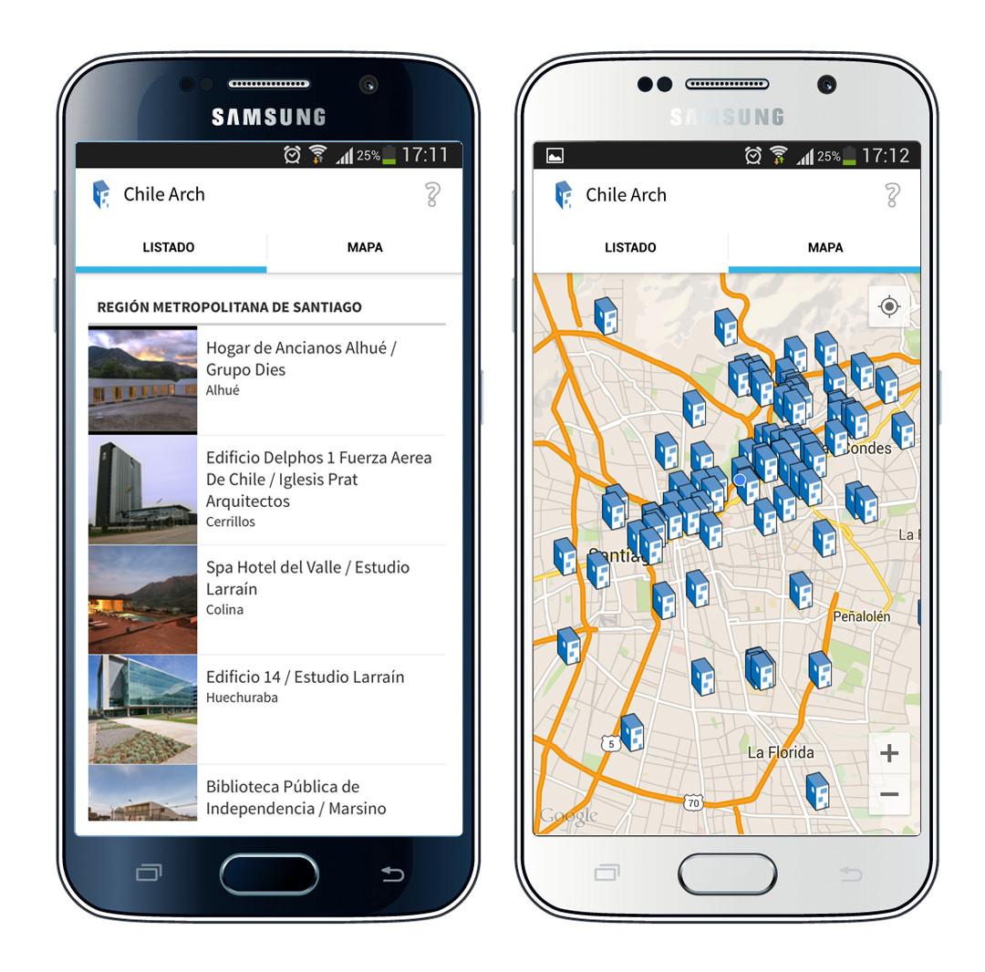 Chile Arch: La mejor guía de arquitectura chilena ahora disponible para Android