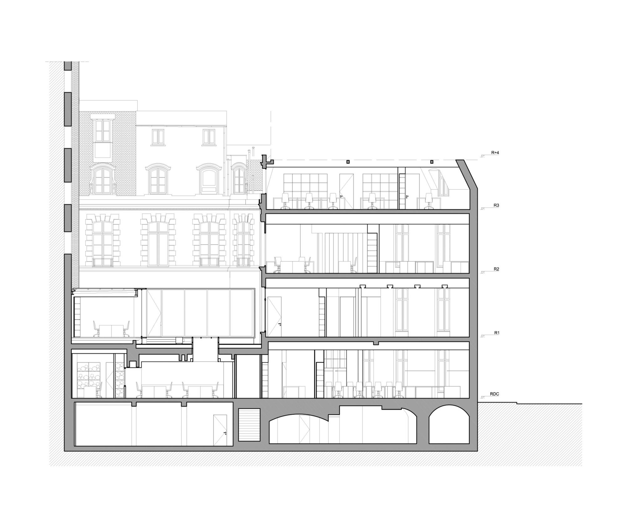 gallery of dior men paris antonio virga architecte dior men architecture department 21. Black Bedroom Furniture Sets. Home Design Ideas