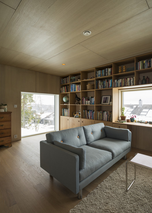 Guarda Aluminio Baño:Casa Linnebo / Schjelderup Trondahl arkitekter