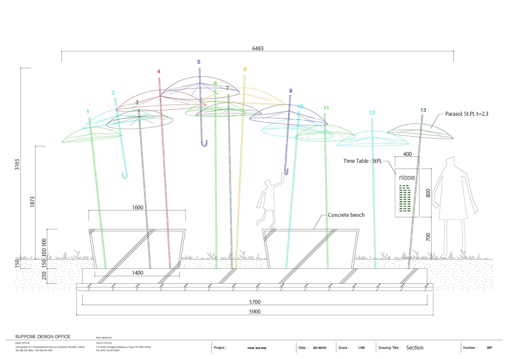 Bus Stop Design Architecture
