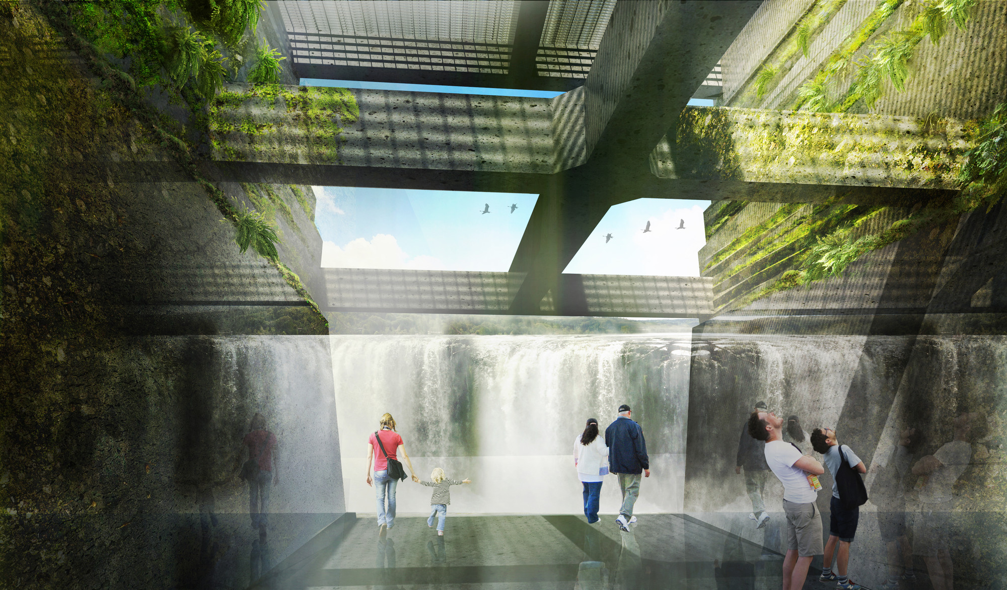 Mayer/Reed, Snøhetta and DIALOG Selected to Design Oregon's Willamette Falls Riverwalk, Courtesy of Snøhetta, DIALOG, Mayer/Reed
