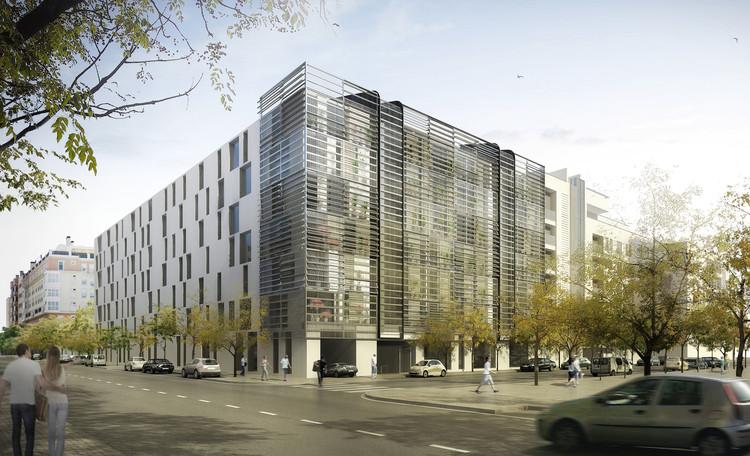 Ruiz-Larrea & Asociados, primer lugar en 'Madrid 0,0': viviendas de consumo energético casi nulo, Cortesia de Ruiz-Larrea & Asociados