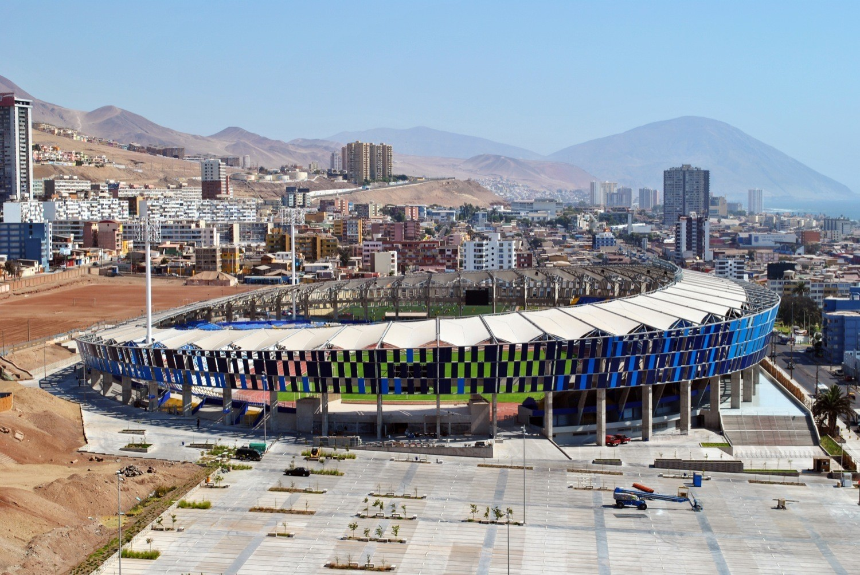Estadio Regional de Antofagasta. Image © Andrés Valle
