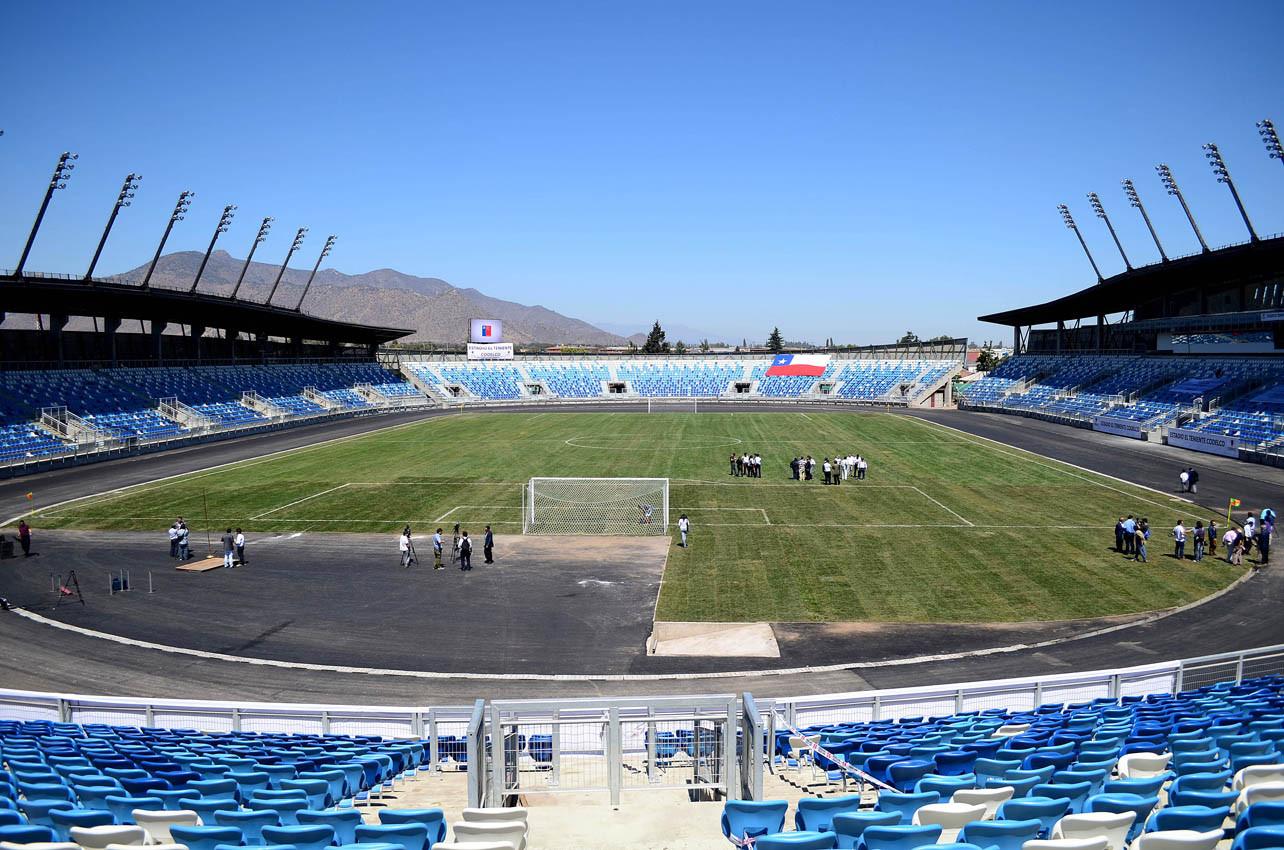Estadio El Teniente de Rancagua. Image vía diariolibertador.com