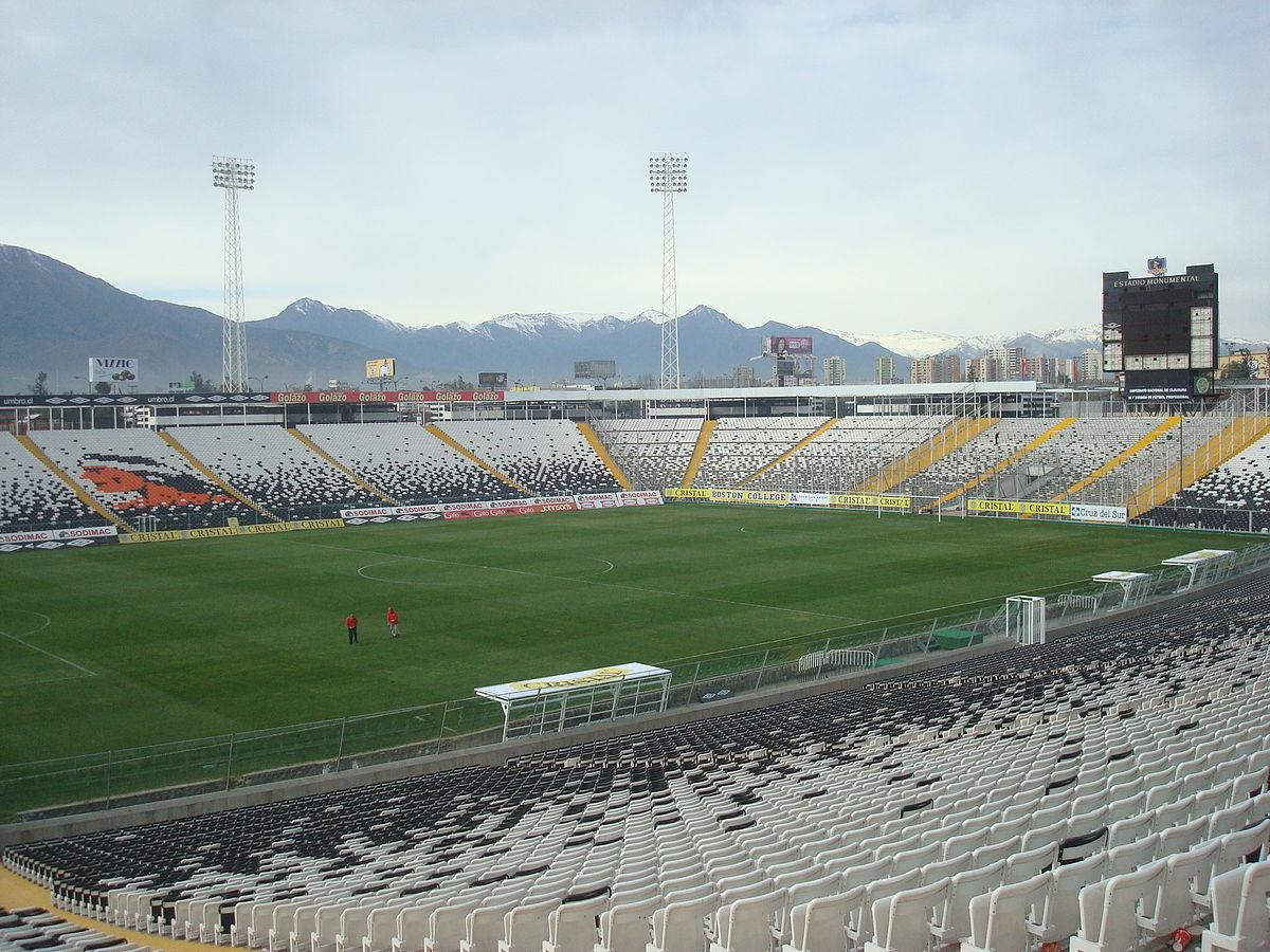 Estadio Monumental de Santiago. Image © Wikimedia CC / Carlos Yo