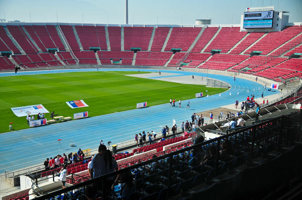 Estadio Nacional Julio Martínez Prádanos, Santiago de Chile. Image vía Plataforma Urbana