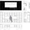 Departamento black line arhitektura d o o plataforma for A line salon corte madera