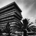 PALMAS 555 (1975). JUAN SORDO MADALENO. Impresión B/N . Image © Sordo Madaleno Arquitectos, fotografía por Guillermo Zamora