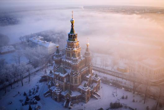 Catedral de San Pedro y San Pablo de San Petersburgo, Rusia. Imagen © Amos Chapple