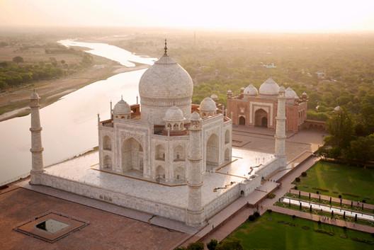 Taj Mahal en Agra, India. Imagen © Amos Chapple