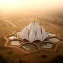 Lotus Temple in New Delhi, India. Image © Amos Chapple