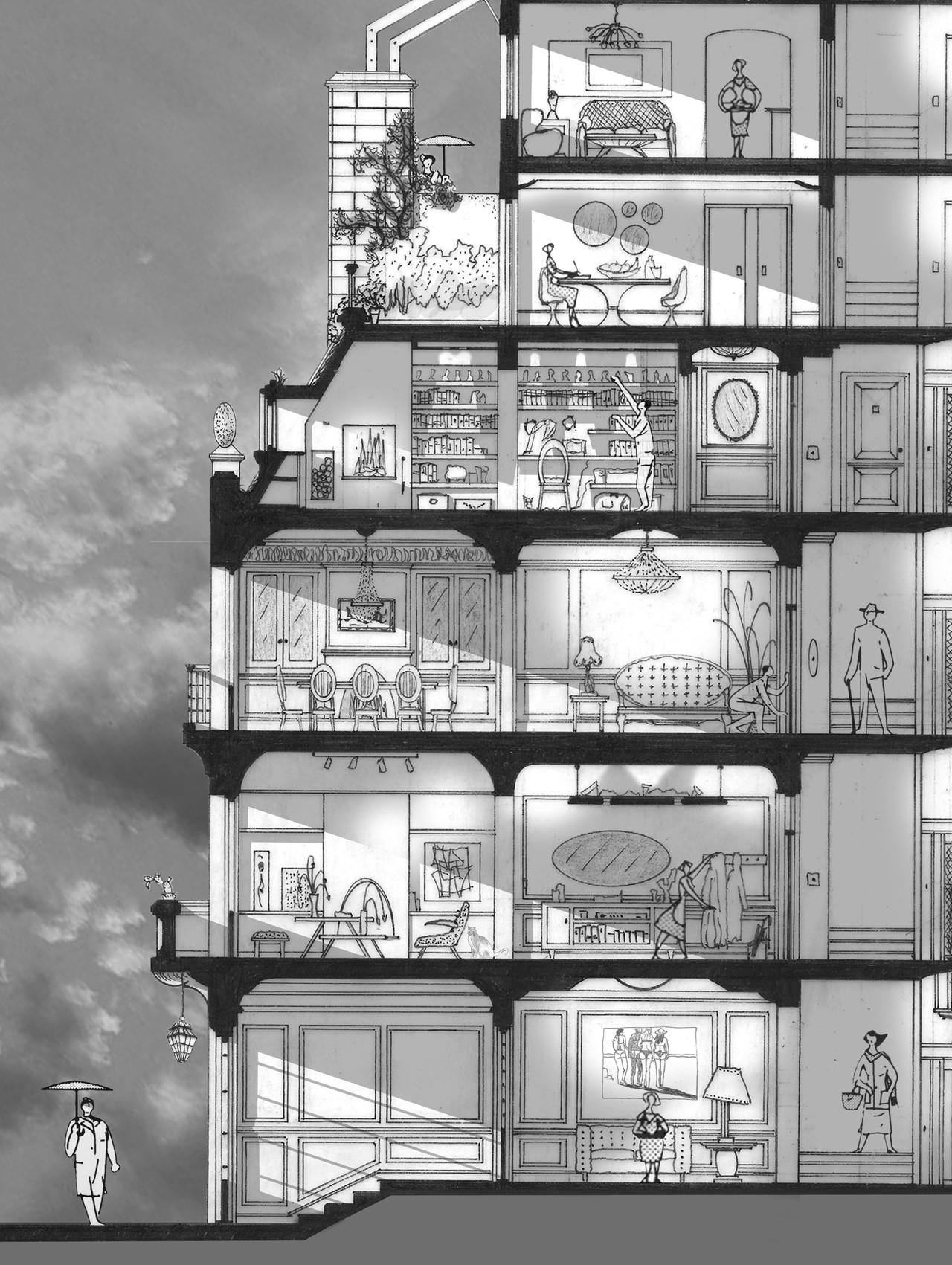 Galeria de arte e arquitetura desenhos arquitet nicos que - Galeria de arte sorolla ...