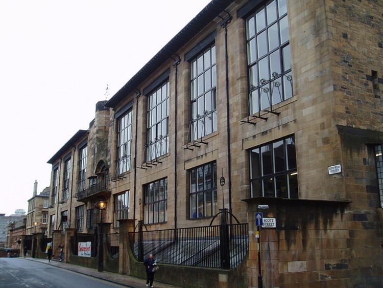 Spotlight: Charles Rennie Mackintosh, Glasgow School of Art. Image © Flickr user stevecadman licensed under CC BY-SA 2.0
