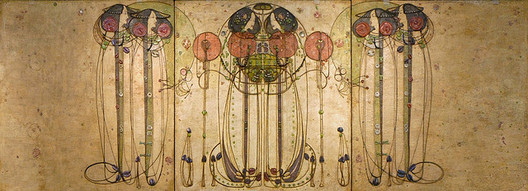 """""""The Wassail"""" by Charles Rennie Mackintosh. Image © <a href='https://www.flickr.com/photos/dalbera/3802874247/'>Flickr user dalbera</a> licensed under <a href='https://creativecommons.org/licenses/by/2.0/'>CC BY 2.0</a>"""