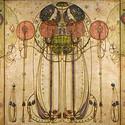 """""""The Wassail"""" by Charles Rennie Mackintosh. Image © Flickr CC user Jean-Pierre Dalbéra"""