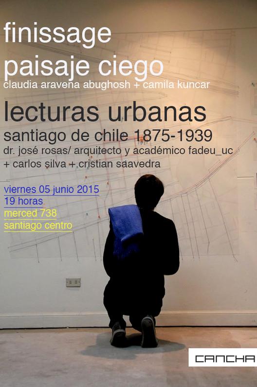 CANCHA_Santiago: visitas a 'Paisaje ciego'