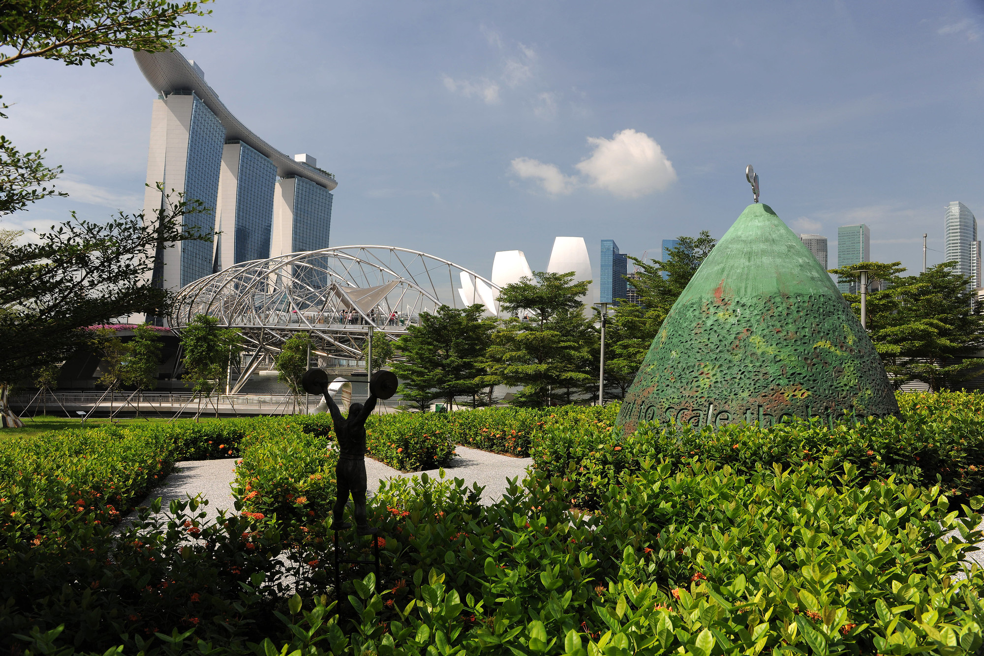 Marina Bay. Image Courtesy of Urban Land Institute
