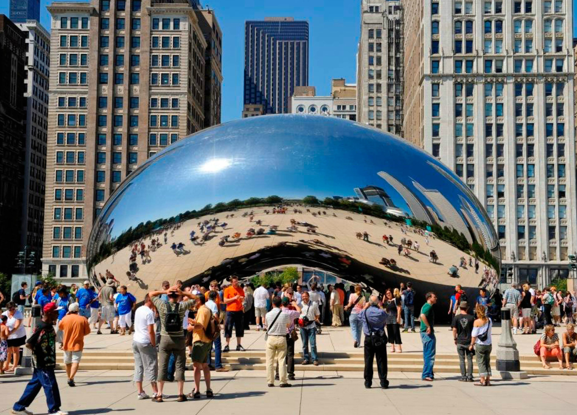 Millennium Park. Image Courtesy of Urban Land Institute