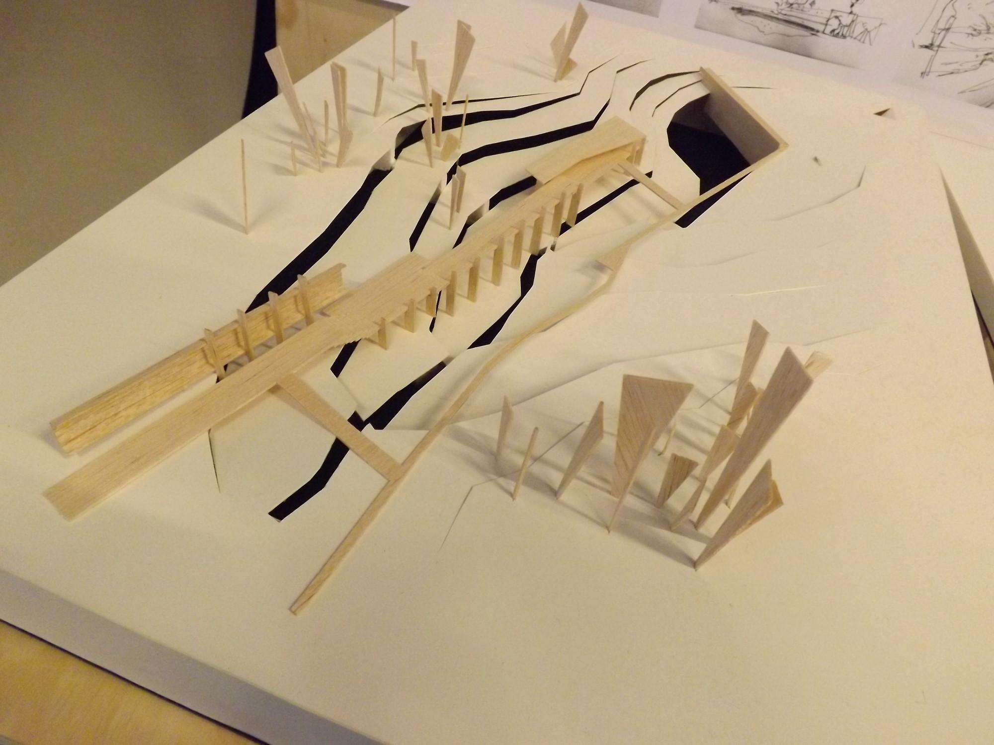 Primer Lugar: Maqueta. Image Cortesia de Equipo XIX Bienal