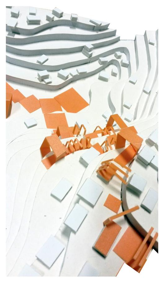 Segundo Lugar UAP: Maqueta. Image Cortesia de Equipo XIX Bienal