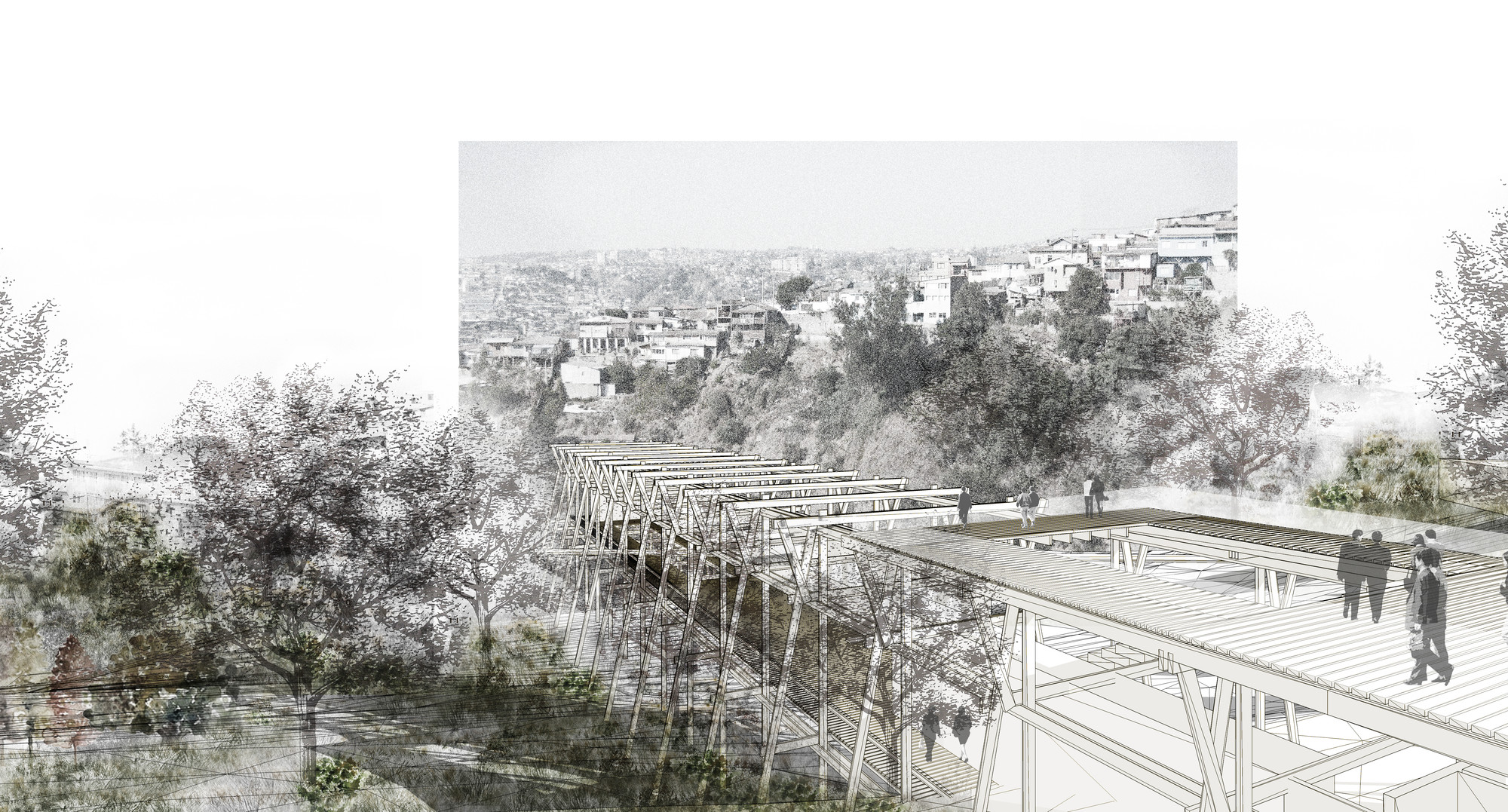 Segundo Lugar UCH. Image Cortesia de Equipo XIX Bienal