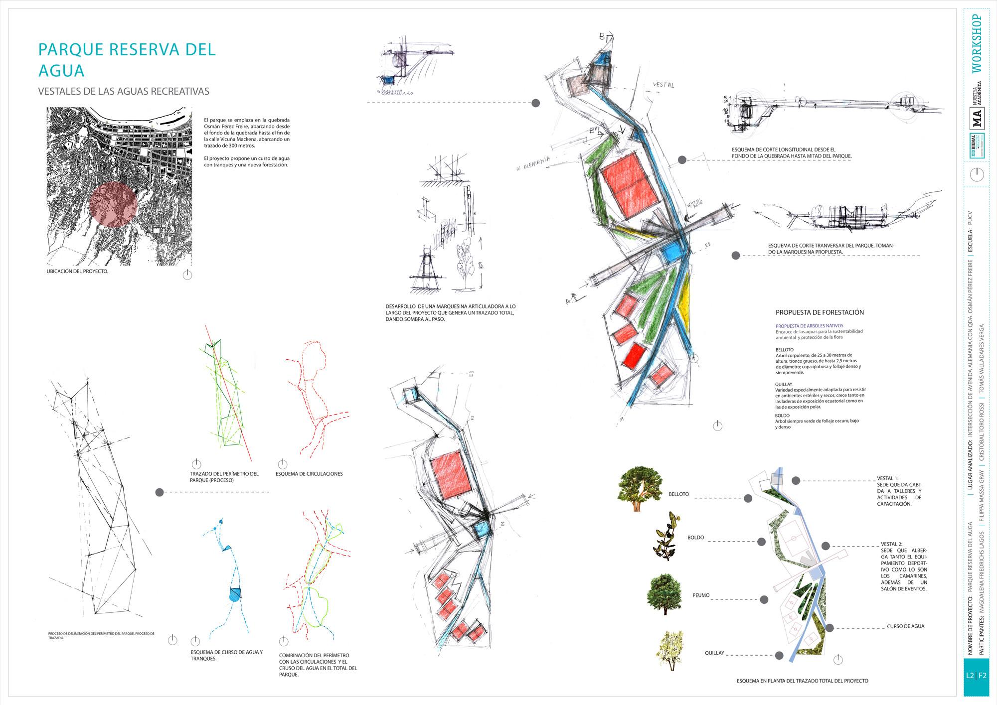 Premio Metodología PUCV: Lámina #02. Image Cortesia de Equipo XIX Bienal