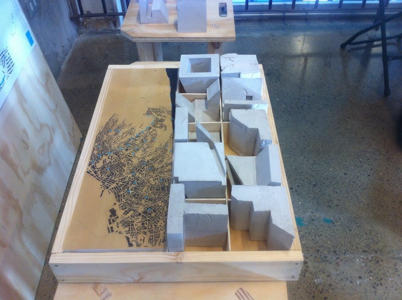 Premio Metodología UMayor Santiago: Maqueta. Image Cortesia de Equipo XIX Bienal