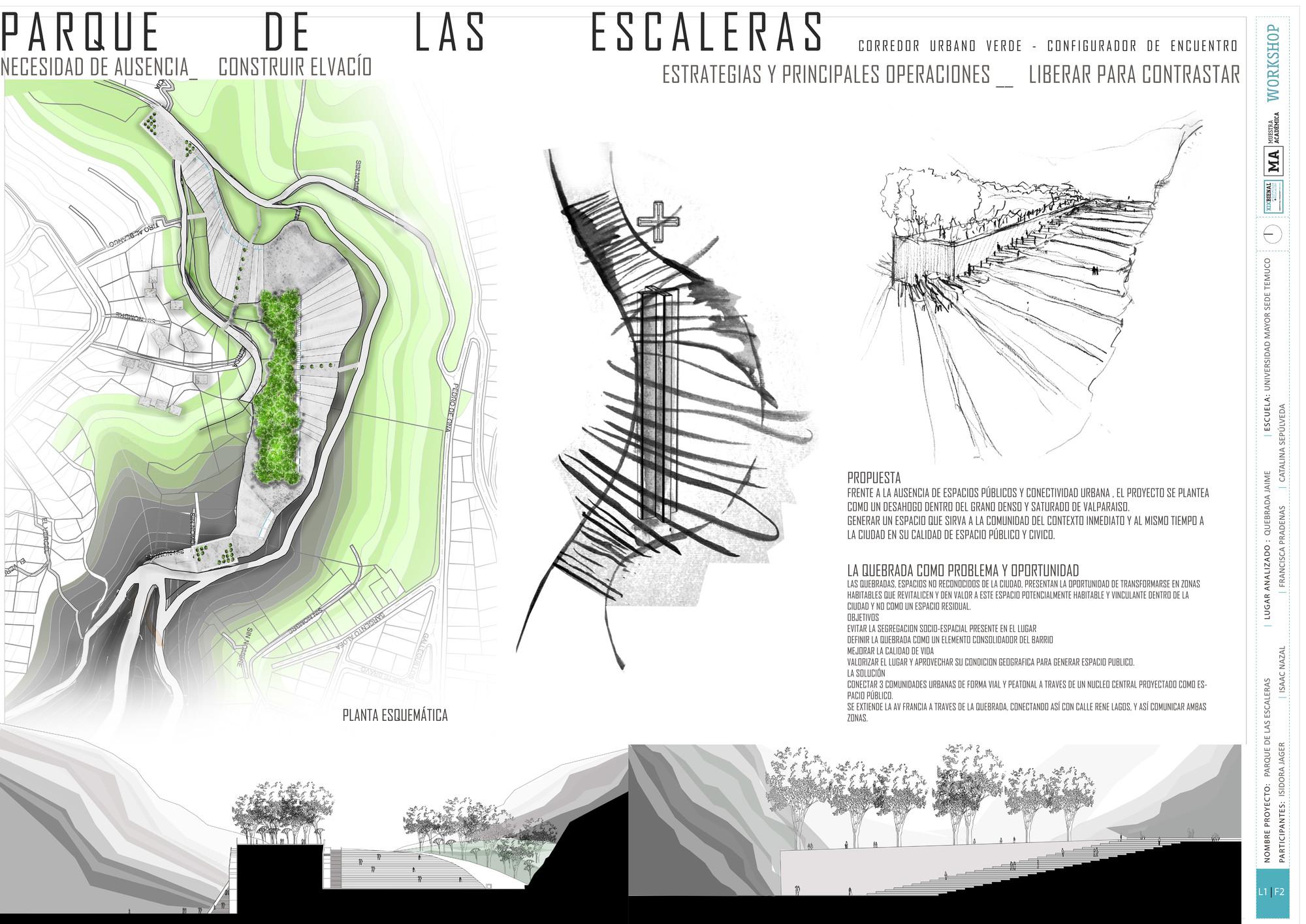 Premio Presentación UMayor Temuco: Lámina #01. Image Cortesia de Equipo XIX Bienal