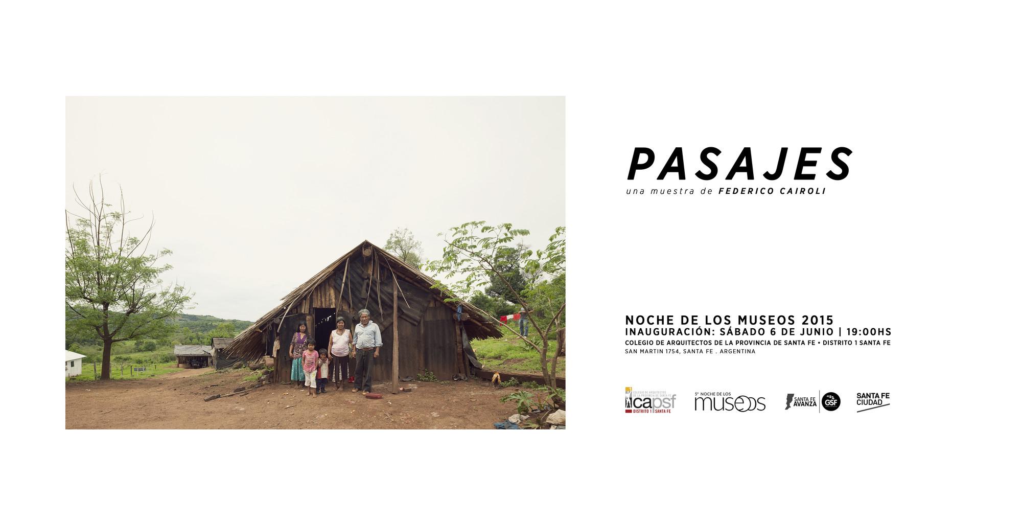 PASAJES, una muestra de Federico Cairoli / Santa Fe, Argentina