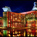 http://www.archdaily.com/64270/ad-classics-walt-disney-world-swan-and-dolphin-resort-michael-graves/. Image © Flickr user Jeff B.